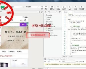 沐雪微信3.1版小程序商城源码 | saas多商户微商城源码
